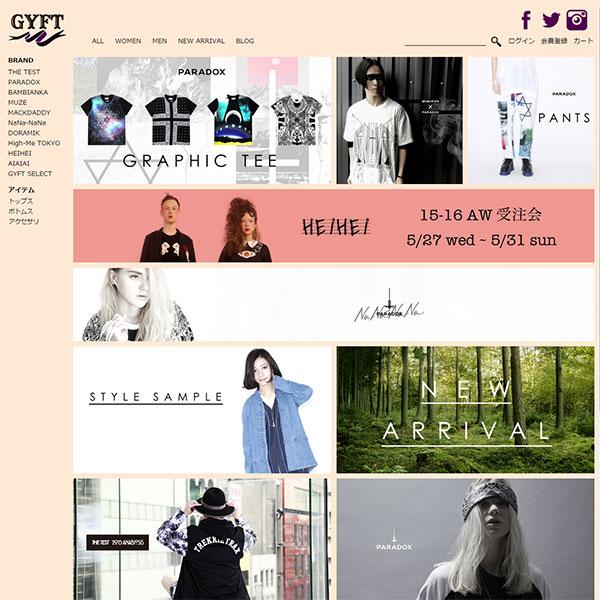 GYFT通販サイト