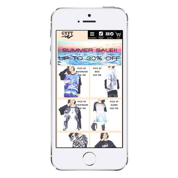 GYFTスマートフォンサイト